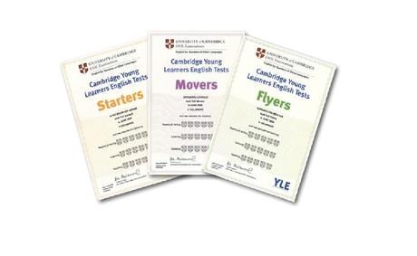 детски сертификати на кеймбридж